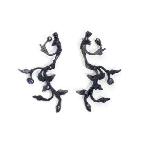 The Burned Forest Collection Medium Earrings