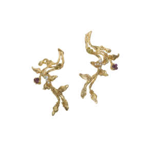 THE ENCHANTED TREE Collection Gold Earrings