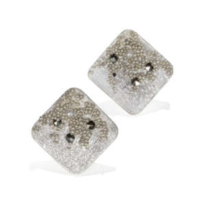 VT Silver Squared Earrings